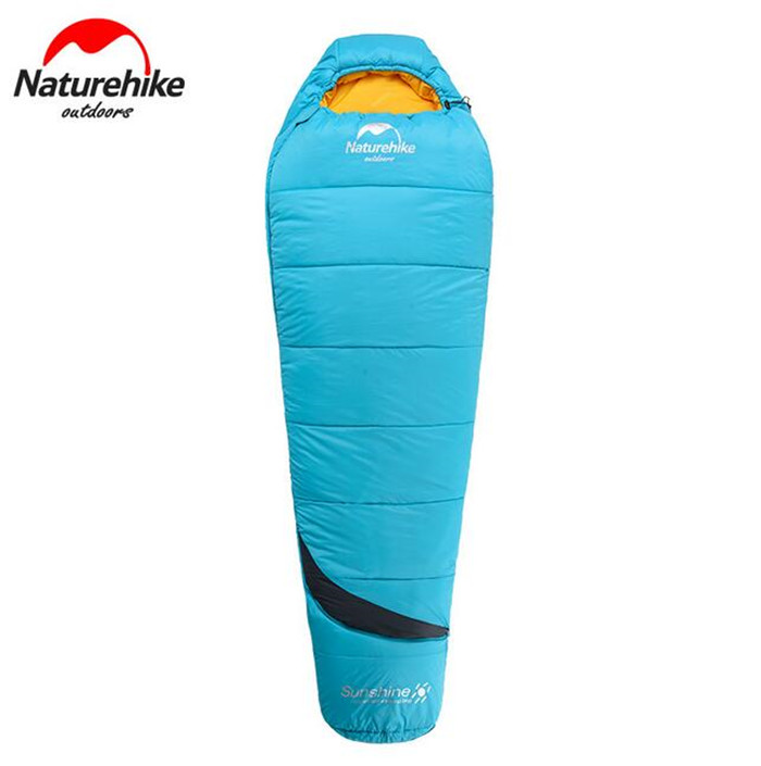 Naturehike Outdoor Cotton Sleeping Bag Ultralight Spring Winter Portable Camping Keep Warm Waterproof Mummy Lazy Bag kingcamp ultralight lazy bag mummy portable waterproof 2 season sleeping bag for camping backpacking