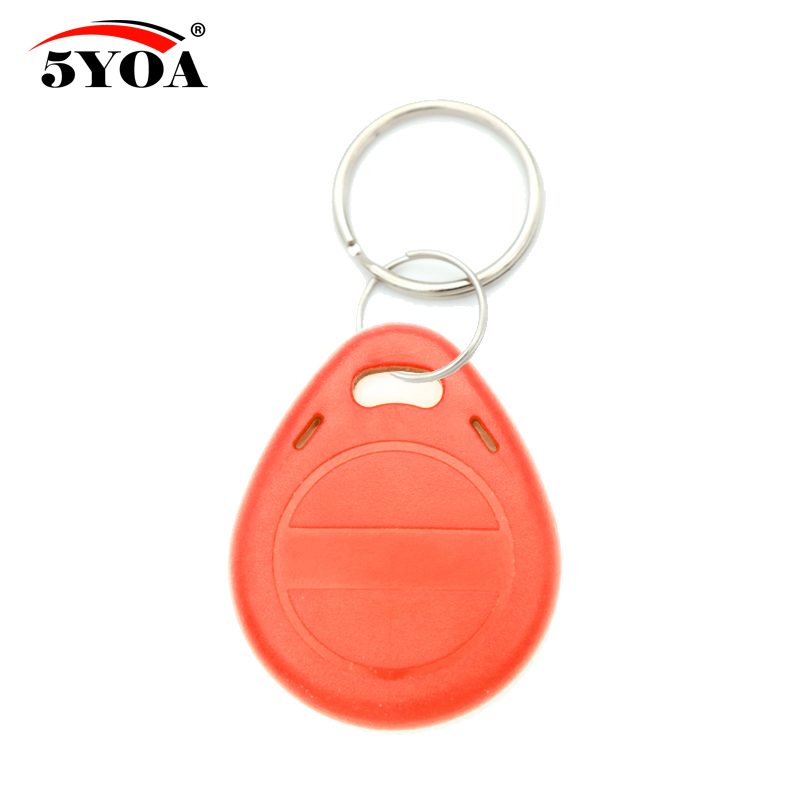 Image 5 - 50pcs EM4305 T5577 Copy Rewritable Writable Rewrite EM ID keyfobs RFID Tag Key Ring Card 125KHZ Proximity Token Badge Duplicatewritable rewriterfid tag125khz card -