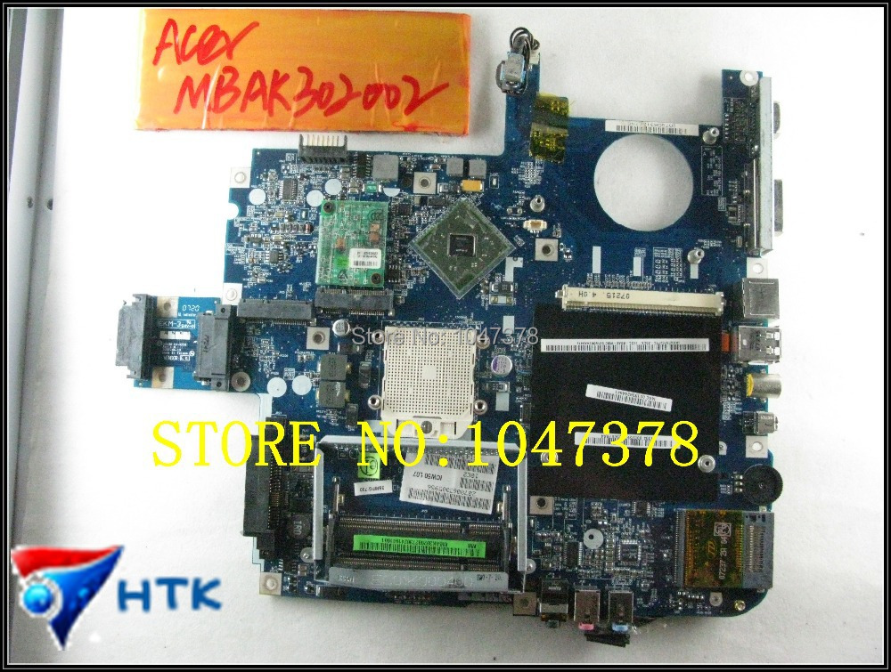 Wholesale Laptop Motherboard FOR ACER Aspire 5520 5520G 7520 7520G  MBAK302001 MB.AK302.001 LA-3581P (ICW50) 100% Work Perfect