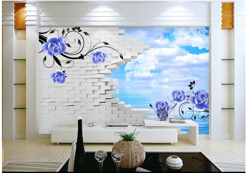 Wallpapers 3d Photo Wallpaper Custom 3d Wall Mural Wallpaper Fashion Library Shelves 3 D Background Wall Paintings 3d Living Room Wallpaper