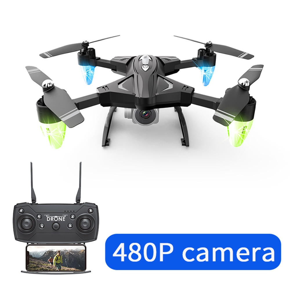 Image 3 - Drone F69 remote control wifi FPV,480P/10800P camera 6 Axis aerial toy 2.4G 4CH foldable aircraft photography pictures video APK-in RC Airplanes from Toys & Hobbies