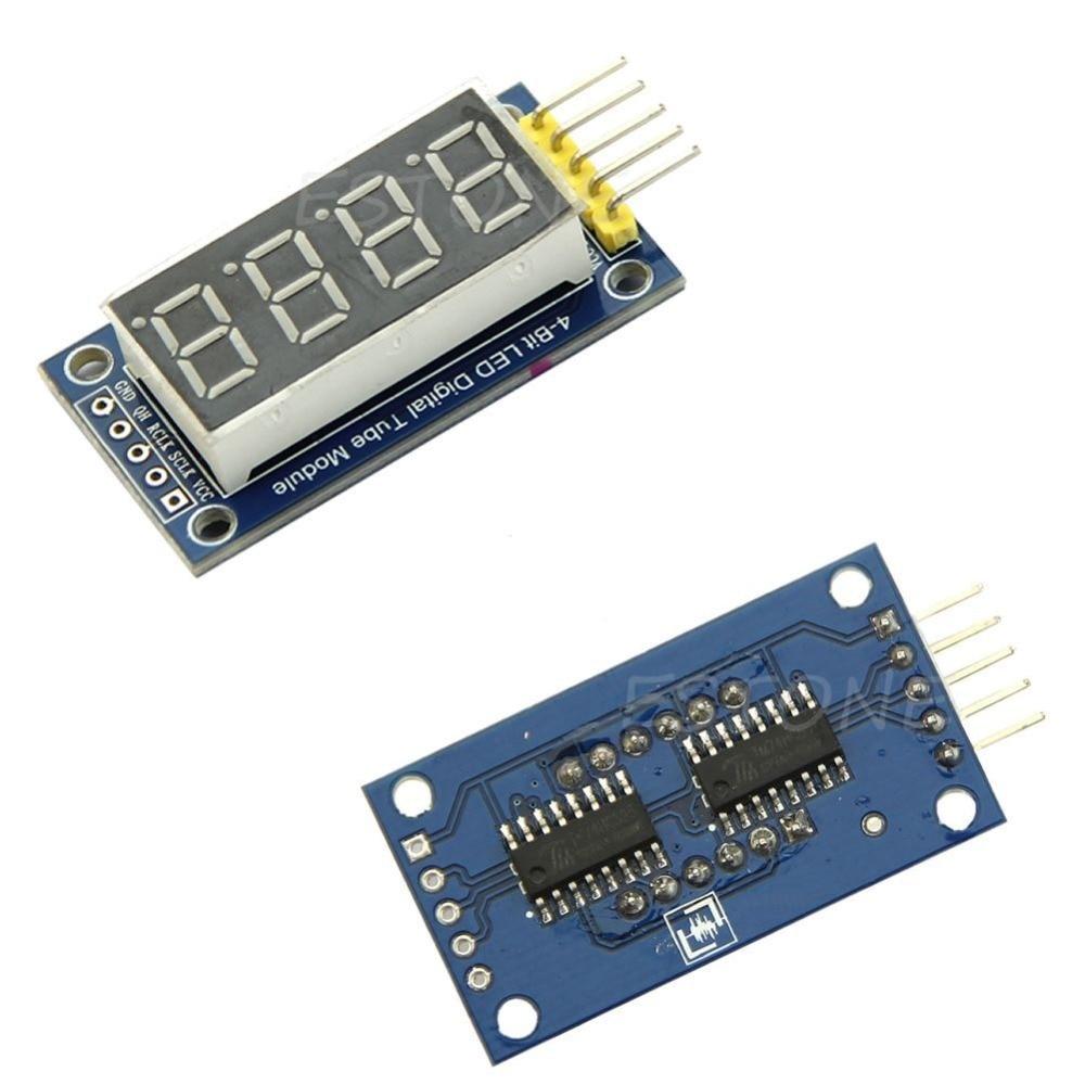 4 Bits Digital Tube LED Display Module Four Serial for 595 Driver H02
