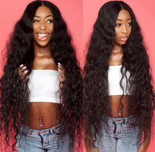 Water Wave Frontal With Bundles Malaysian Remy Human Hair 3 Bundles With Frontal 13X4Lace Closure Frontal With Bundles Nicelight(China)