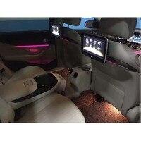 Установка 3 секунды Android 10,6 дюймов автомобильный монитор подголовник экран специально для Mercedes E C Класс Авто Подушка монитор DVD