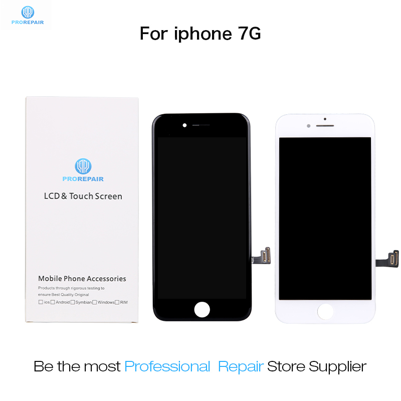 Prorepair 5pcs/lot OEM Refurbish Screen For iPhone 7 LCD Display Touch Screen Digitizer Assembly ReplacementProrepair 5pcs/lot OEM Refurbish Screen For iPhone 7 LCD Display Touch Screen Digitizer Assembly Replacement