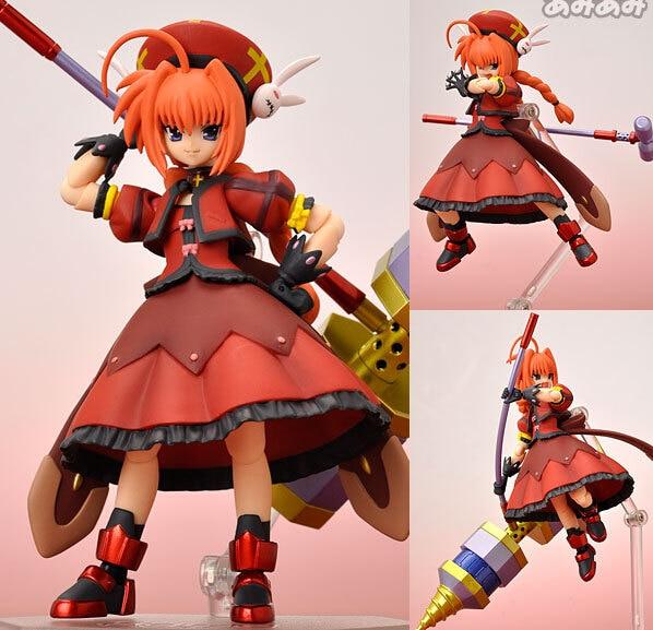 NEW Hot 15cm Magical Girl Lyrical Nanoha Vita Action Figure Toys Collection Christmas Gift With Box