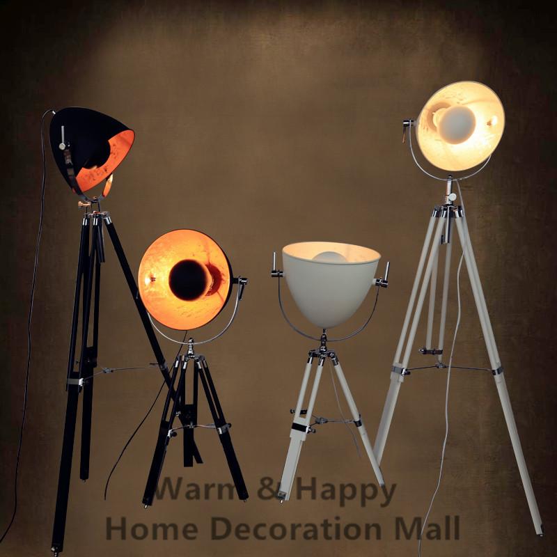 Moderne Loft Land Industrie Vintage Stativ Scheinwerfer Design Stehlampen Leuchte Fr Zuhause Wohnzimmer Innenbeleuchtung Decor