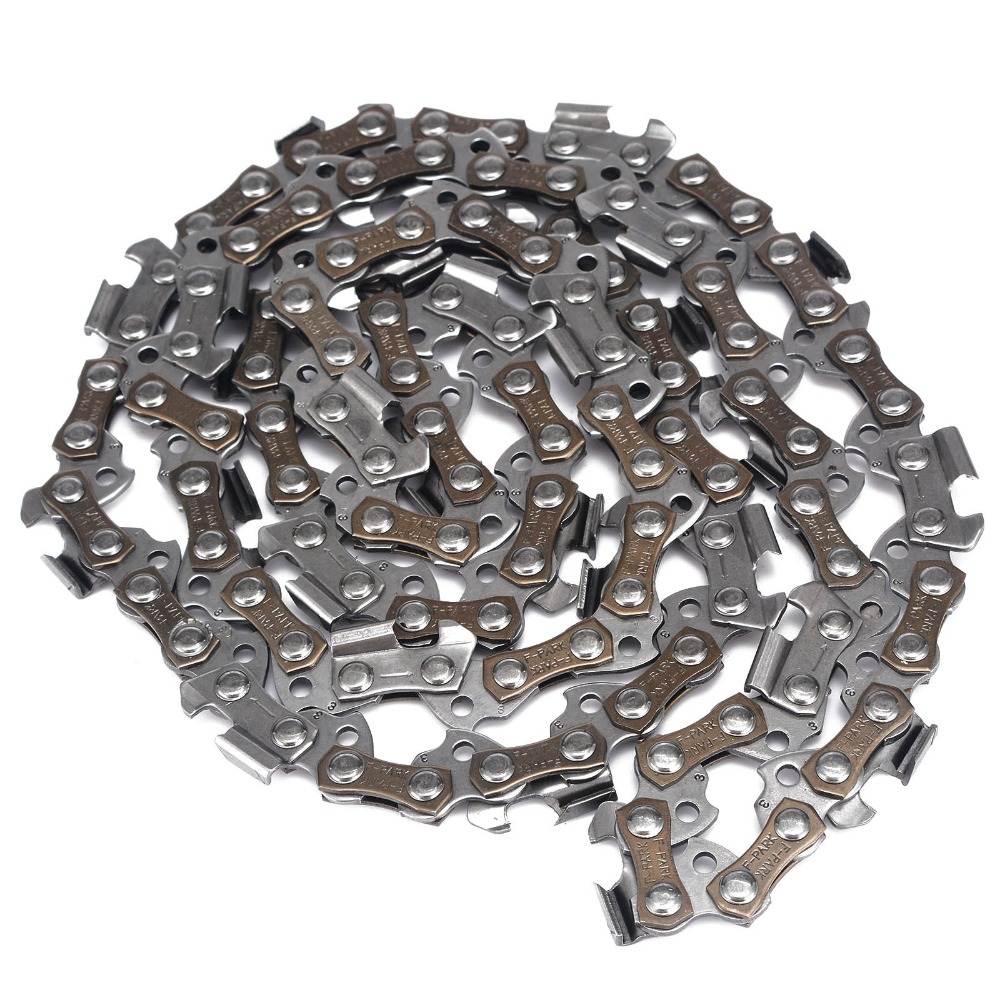 16inch Replacement Chainsaw Saw Chains 3/8 For Gauge 58DL Drive Link Accessory 16 size chainsaw chains 3 8 063 1 6mm 60drive link quickly cut wood for stihl 039