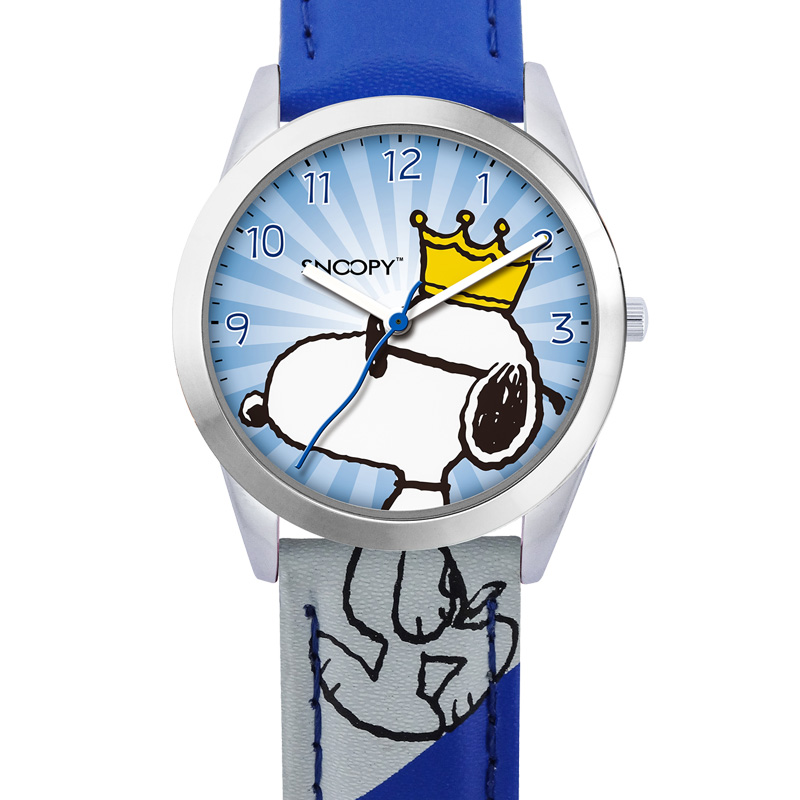 Top brand SNOOPY official boys girls kids Watch Waterproof cartoon king of Joe Cool cute clock japan quartz Relogio Faminino 784 in Children 39 s Watches from Watches