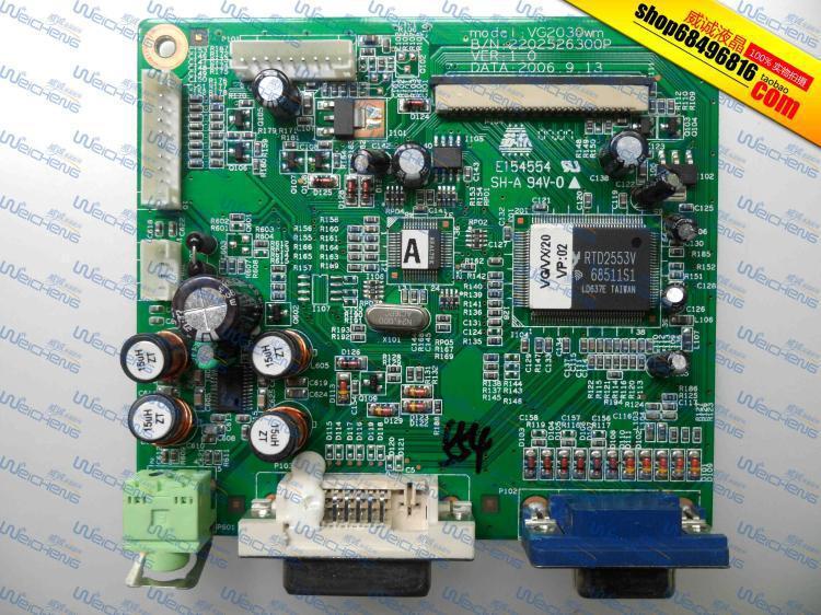 Free Shipping> VX2035wm Series driver board logic board 2202526300P-Original 100% Tested Working free shipping ha nnstar hc174 logic board 39 x1910100g000 driver board original 100% tested working