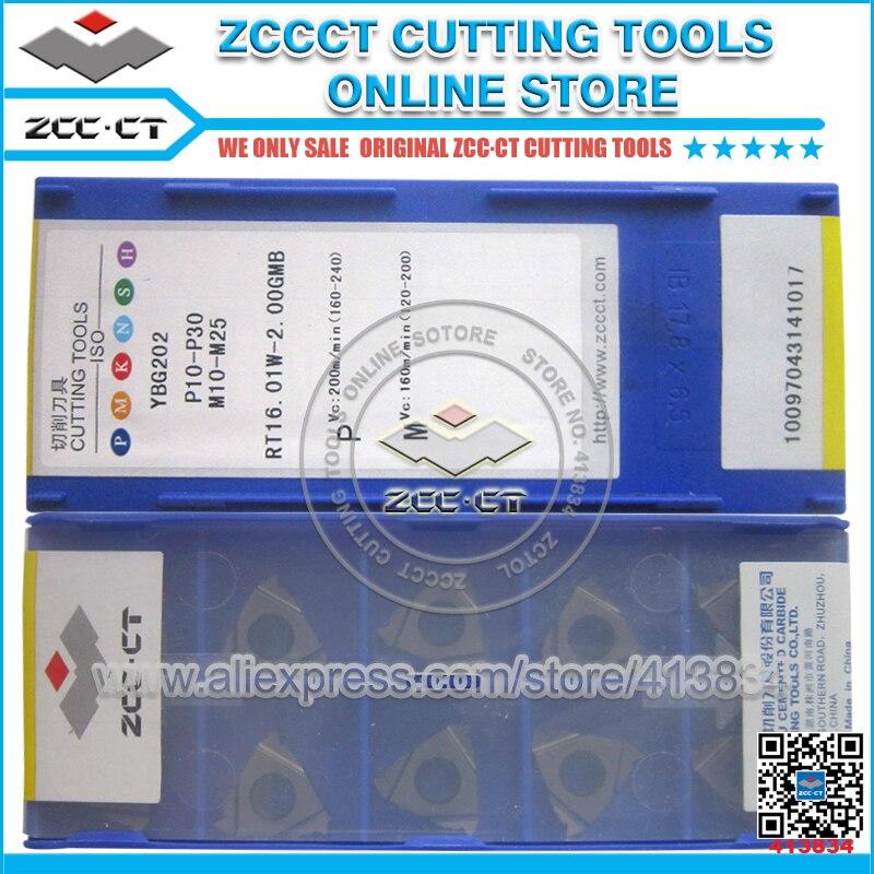 Livraison Gratuite ZCC inserts filetage métrique ISO grossier fil 60 degré mince type