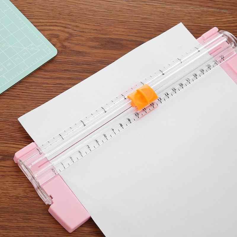 Cortadora de papel de precisión Popular A5 recortadoras de fotos cortadora de libros de recortes cortadora de papel ligero cortadora de hojas