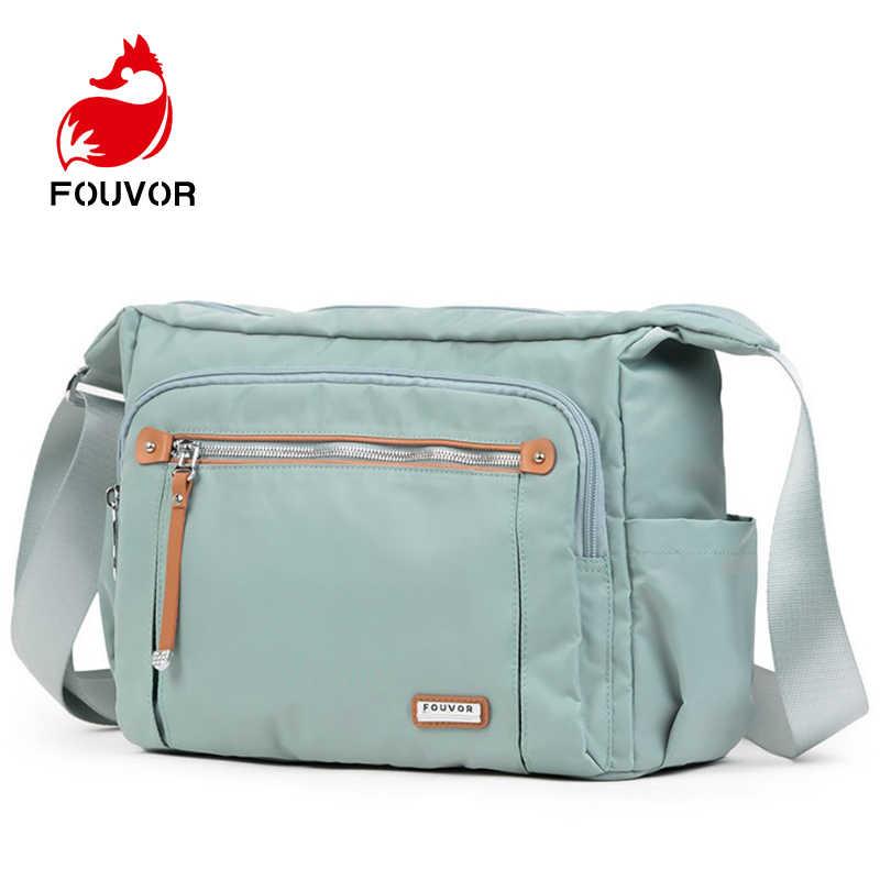 0dabc8cc1b79 Fouvor Women Messenger Bags High Quality Crossbody Bag Oxford Mini ...