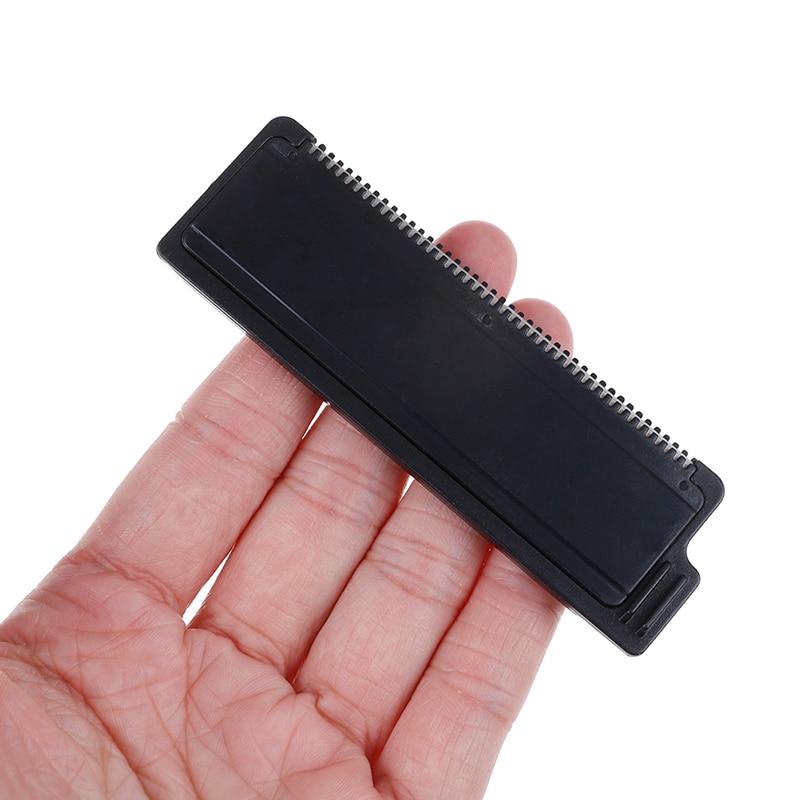 Cuchilla de acero inoxidable para eliminar el dolor, afeitadora colorida para la espalda, afeitadora Manual