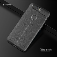 For OnePlus 5T Case Soft Silicone Leather Business Style Anti-knock Case For OnePlus 5T Cover For OnePlus 5T 1+5t Funda BSNOVT