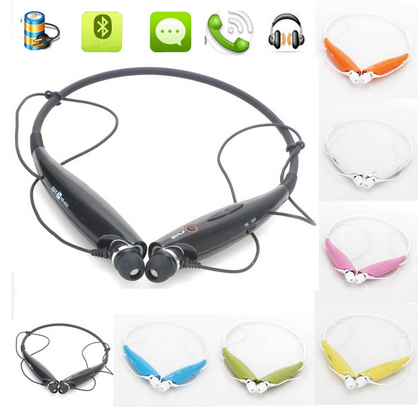 Wireless Neckband Bluetooth Headset HandFree Sport Stereo Headphone With MIC Listen Music Strong Bass HV800 For Phone