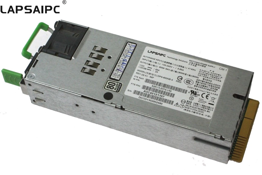 Lapsaipc Power Supply DPS 800NB A for 800w DPS 800NB A Used