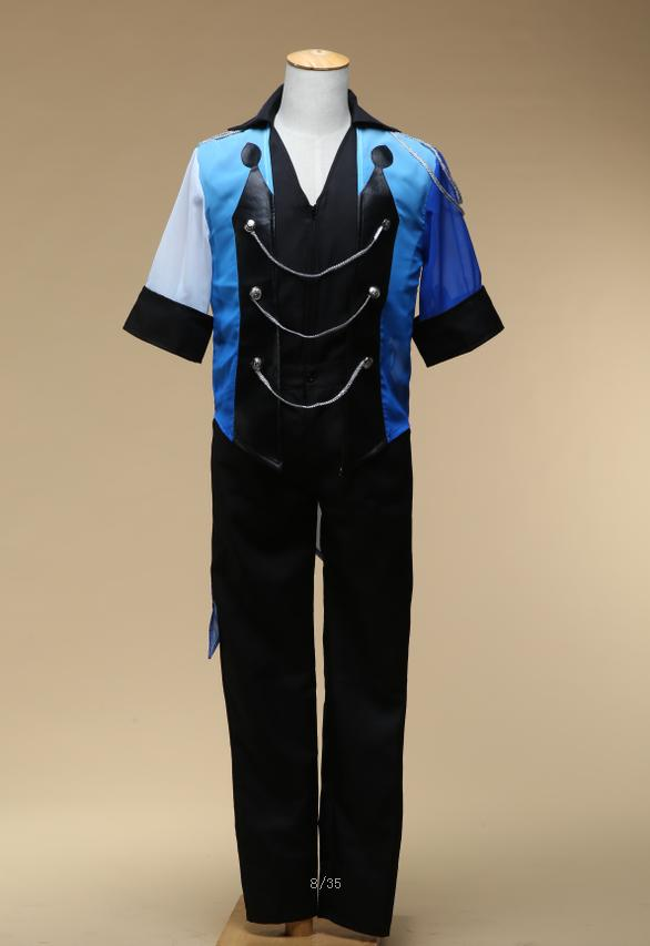 Anime Cosplay Yuri on Ice Cosplay Costume  Victor Nikiforov Uniform Suit Outfit Halloween Costume Performance Sportswear