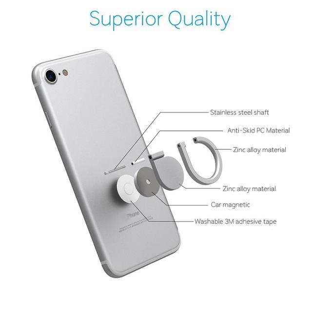 Universal Metal Finger Ring for Mobile Phone
