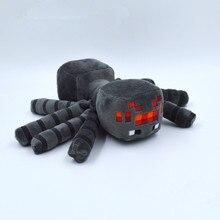 17cm New Minecraft Spider Dolls Minecraft Creeper Stuffed Animals Movie & TV Toys Dolls Kids Toys Birthday Gifts 17cm