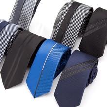 Мужские галстуки, роскошный тонкий галстук, галстук в полоску для мужчин, деловой Свадебный жаккардовый галстук, мужская рубашка, модный галстук-бабочка, подарок
