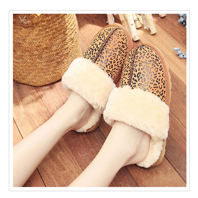 a83be661c2e9 2017 Hot Sale Luxury Winter Plush Leather Furry Flip Flops House Fuzzy Fur  Soft Bedroom Australian Slippers for Women no ug Anti-in Slippers from Shoes  on ...
