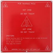 1PCS Red PCB Heated Heat bed heatbed MK2B Upgraded MK2A for Mendel for RepRap 3D Printer Support 12V 24V