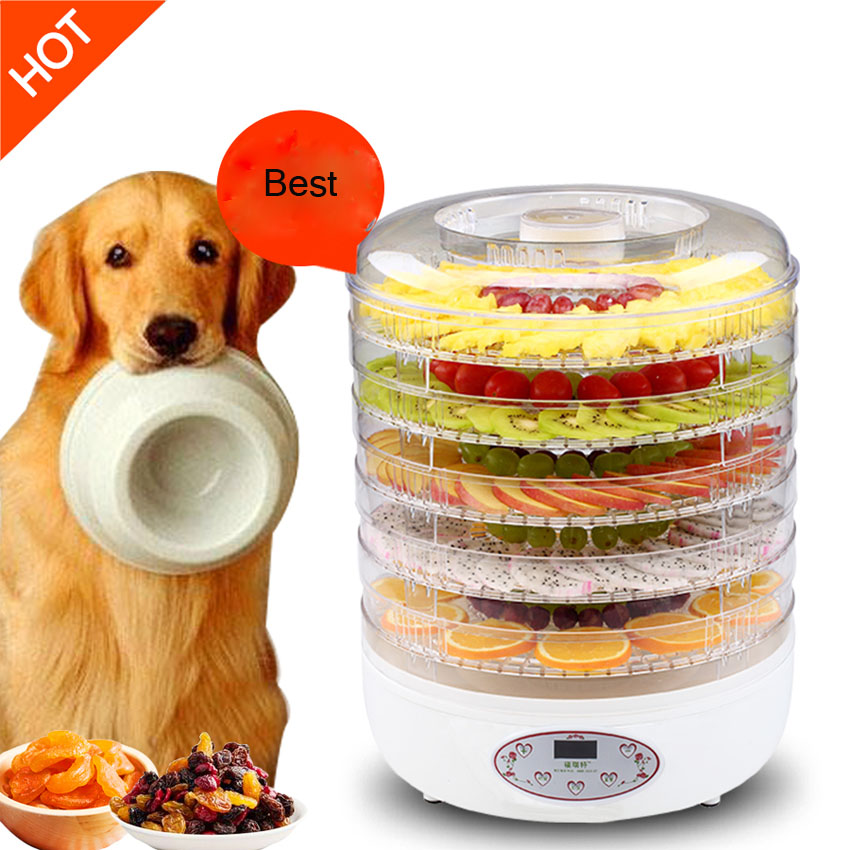 1PC  FD770C Dried Fruit Machine Fruit and Vegetable Pet Food  Dehydration Dry Meat Food Machine Snacks in the Dryer fruit and vegetable fruit milk mask machine machine of the fruit of household homemade diy automatic whitening and hydrating fac