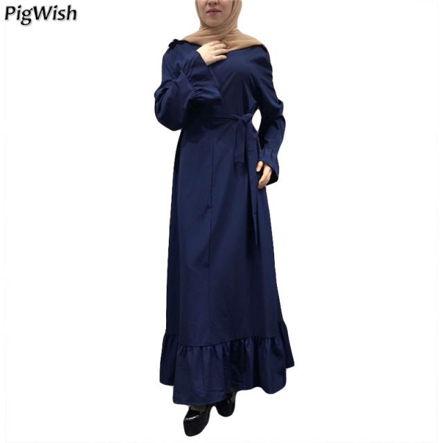 c74872866b7c6 2018 Fashion Abaya For Women Breast Feeding Dubai Islamic Muslim Dress  Ramadan Kaftan Eid Clothing Flare
