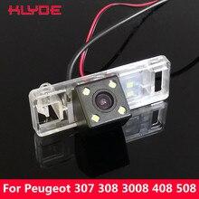 KLYDE samochodów CCD cofania kamera noktowizyjna dla Peugeot 307 307CC 308 308CC 3008 3008C 408 508/Lifan 520X60X80/Geely