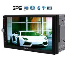 Car Stereo Audio Radio Android 6.0 2 DIN Quad Core 2 din Touchscreen Car DVD Player GPS Navigation supports 4G DAB+ Free Camera