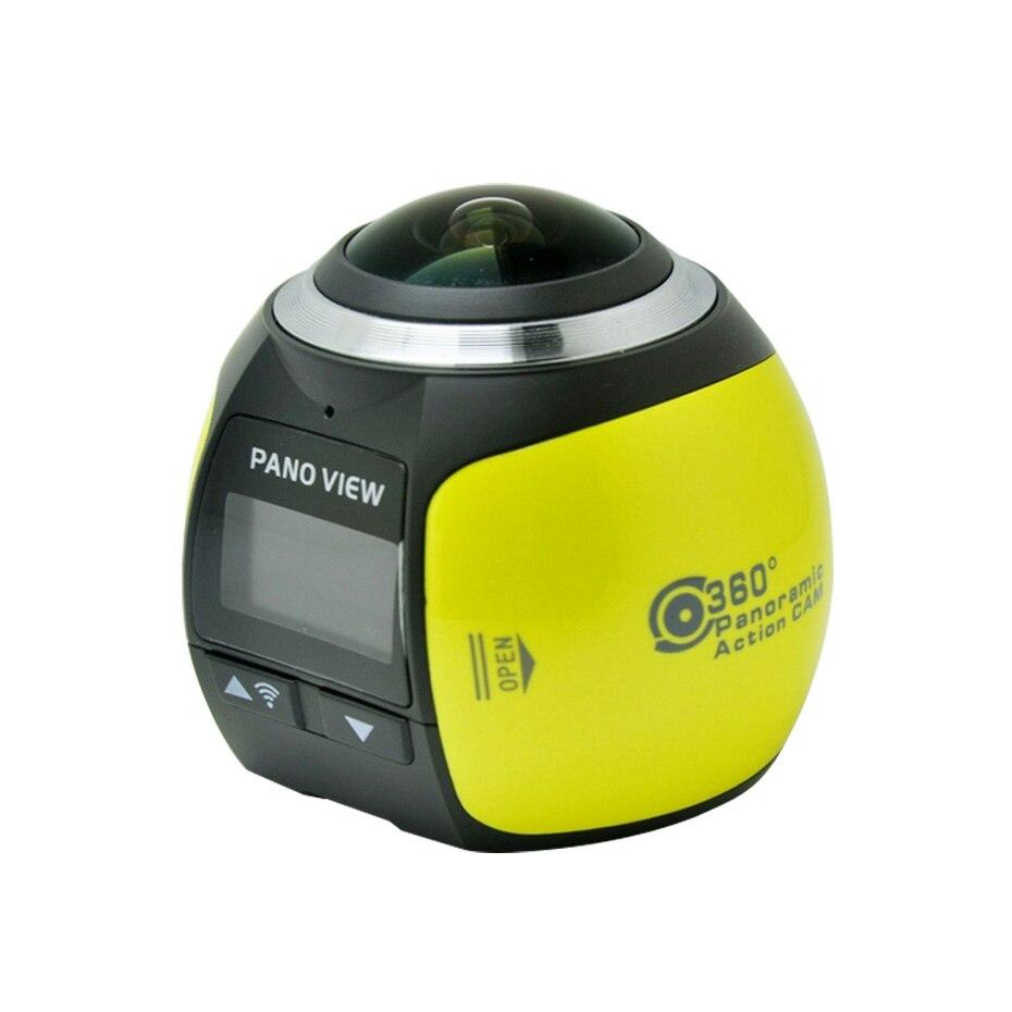 360 caméra d'action Wifi Mini 2448*2448 Ultra HD Mini caméra panoramique 360 degrés Sport conduite VR caméra pour oppo xiaomi