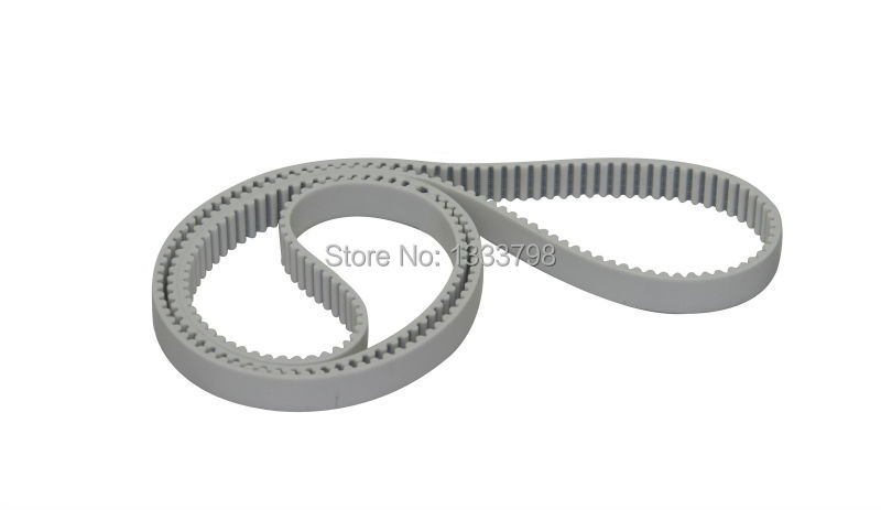 Cheap price strong quality T10 type white color pu timing belt with steel cotdCheap price strong quality T10 type white color pu timing belt with steel cotd