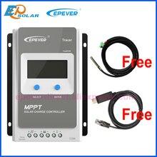 Tracer 1210AN 2210AN 3210AN 4210AN 10A 20A 30A 40A MPPT Контроллер заряда для фотоэлектрических систем 1210A 2210A 3210A 4210A ЖК-дисплей EPEVER регулятором солнечного заряда r