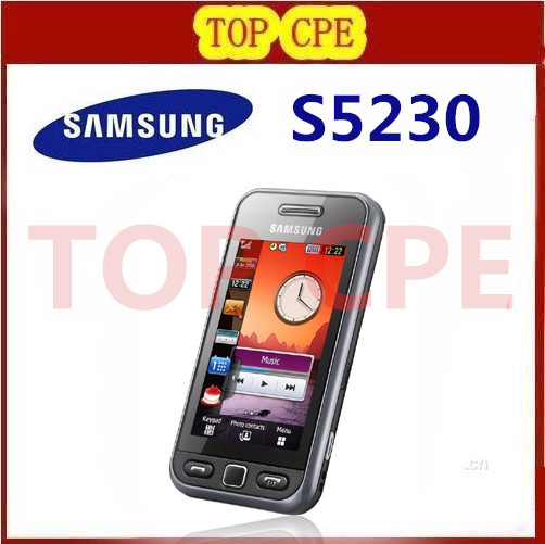 Original Samsung S5230 Unlocked 3 0 inch Touch screen 2MP Camera Cell Phones in stock Free