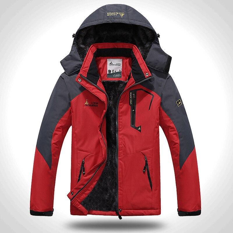 Men s Mountain Waterproof Ski Jacket Windproof Rain Jackets Winter Snow Snowboard Thermal Warmth Coat Hiking