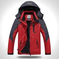 Men's Mountain Waterproof Ski Jacket Windproof Rain Jackets Winter Snow Snowboard Thermal Warmth Coat Hiking Down Suit