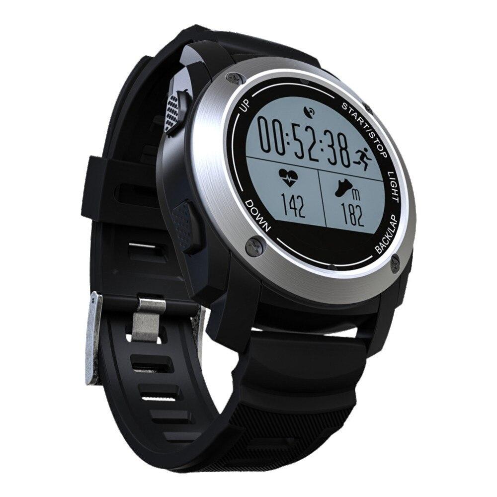 4efd887a6b0 Original Inteligente Esporte Monitor De Freqüência Cardíaca Do bluetooth  Inteligente Relógio GPS Ao Ar Livre Smartwatch Android IOS Telefone  Inteligente G ...