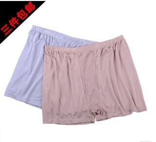 Counters authentic Men's silk underwear Pants are Big yards loose 100% mulberry silk specials