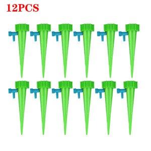 12 шт автоматические наборы для полива Садовые принадлежности для орошения регулируемые колья устройство системы комнатных растений шипы растения в горшке цветок