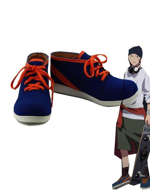 K RETURN OF KINGS Anime Yata Misaki Cosplay Shoes Boots Custom Made