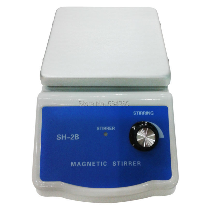 SH-2BLaboratory equipment  magnetic  stirrer mixer chemistry laboratory agitador magnetico stirrer bar100~2000rpm / mi brand new flatspin small magnetic stirrer thin laboratory mixer adjustable speed 15 1500 rpm
