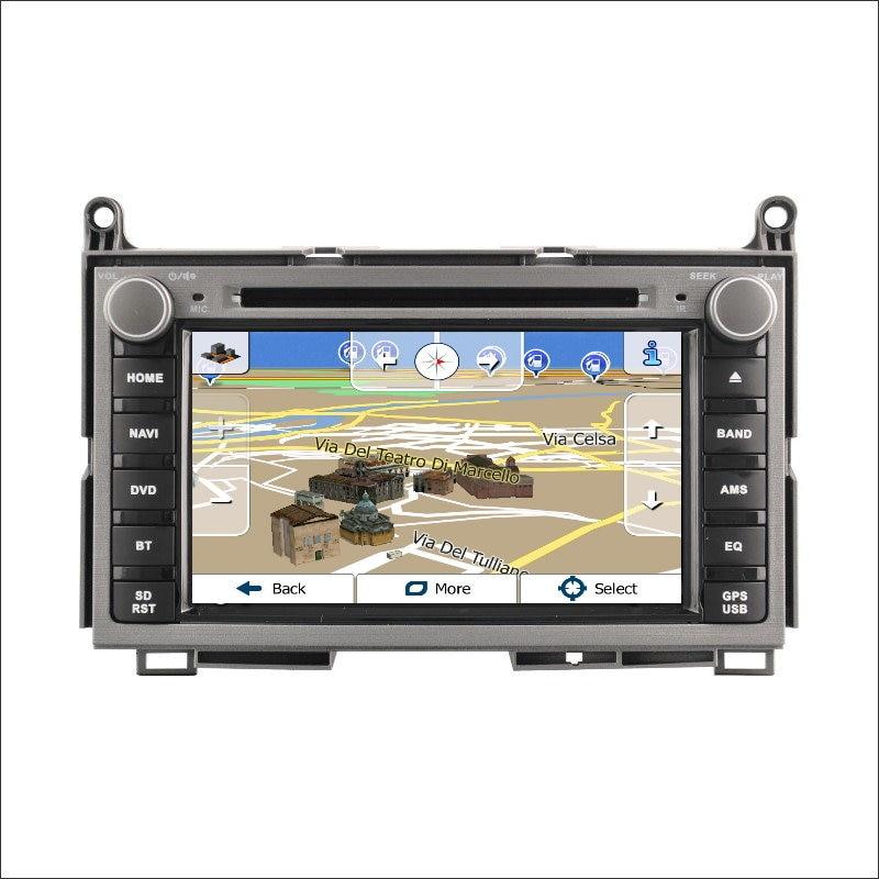 Para Toyota Venza 2009 ~  Amplificador Reproductor de HD TV de Pantalla de Coche