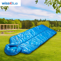 Wissblue Outdoor Professional Mummy Sleeping Bag Hiking Warm Lightweight Compact 3 4 Season For Adult Child