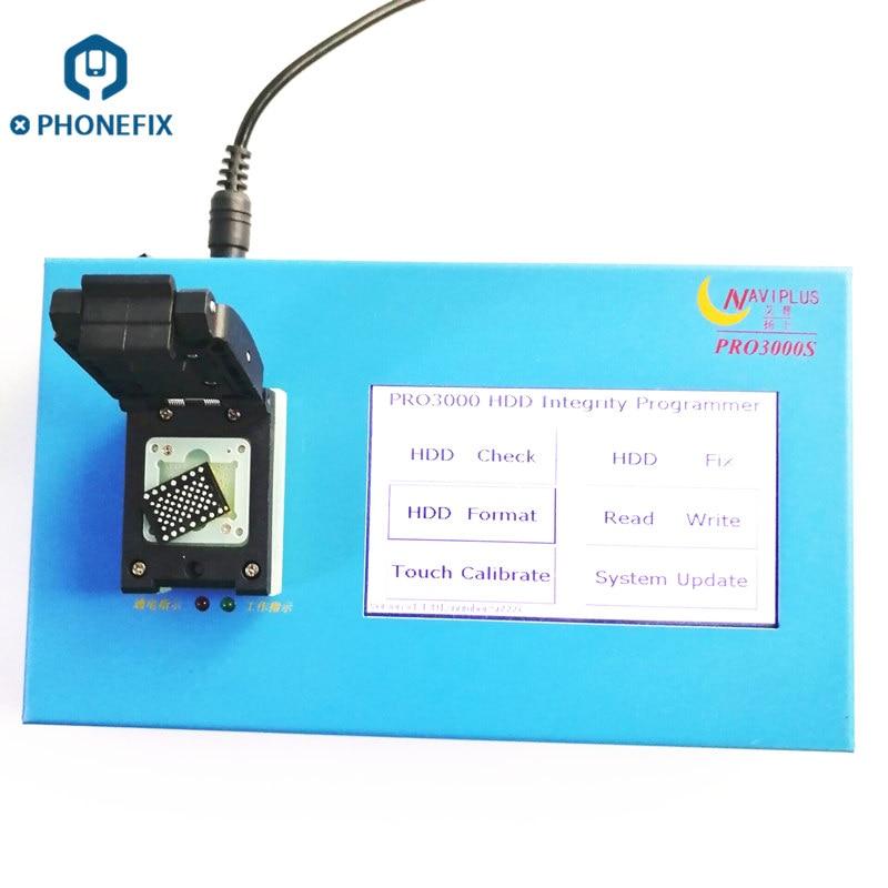 PHONEFIX NAVIPLUS PRO3000S IP Box NAND Programmer Pro 3000S Error Repair Tool For IPhone 4 5 6 6P For IPad 2 3 4 5 6 Air Mini