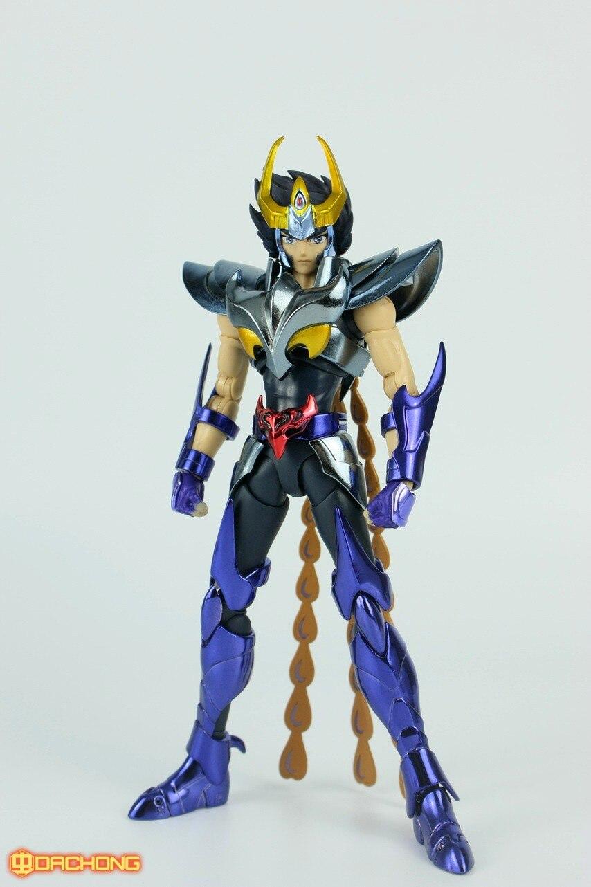 Great Toys Metal action figure Saint Seiya Myth Cloth EX Ikki del Fénix V3 Gold