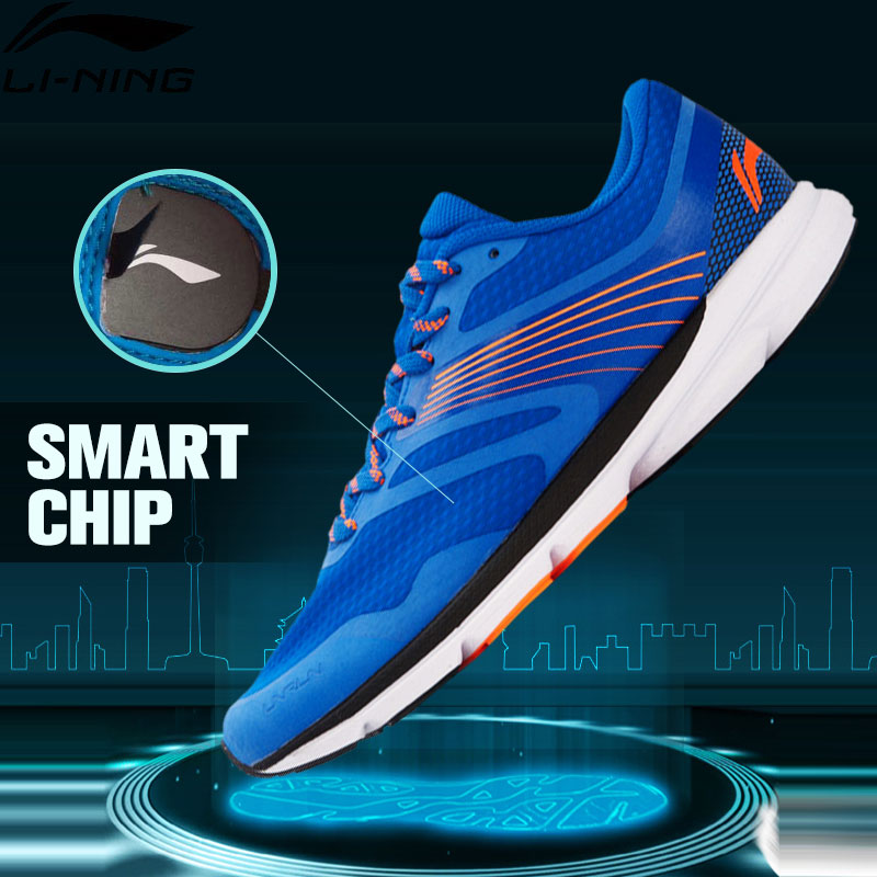 Li-Ning Men's ROUGE RABBIT Smart Running Shoes SMART CHIP Sneakers Cushioning Breathable LiNing Sports Shoes ARBK079 XYP391 li ning shoes print street men s basketball shoes cushioning breathable stability professional sneakers sports shoes abpl019