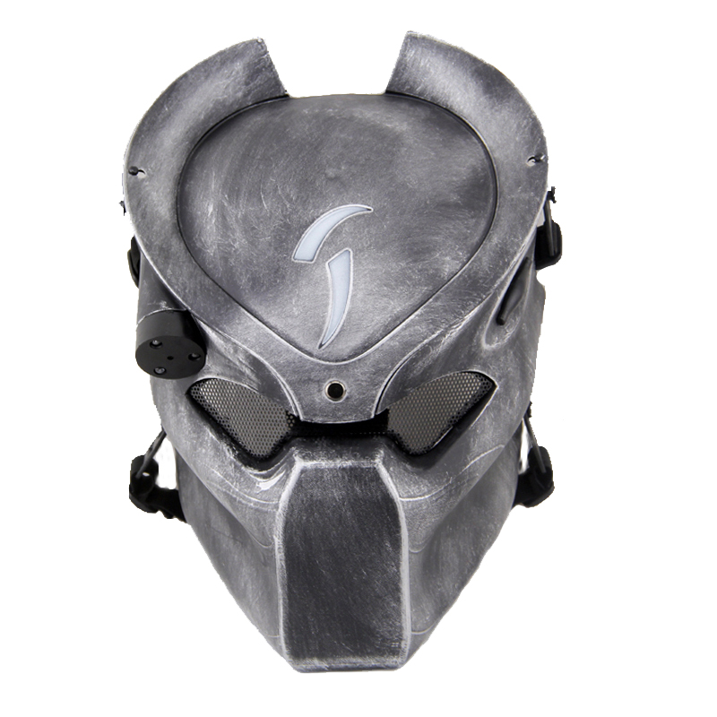 Aline Predator Hunter Infrared Light Tactical Airsoft Mask Cosplay Movie Prop DC-14 terminator full face mask skull mask airsoft paintball mask masquerade halloween cosplay movie prop realistic horror mask