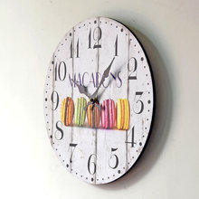2016 New Arrival Decorative Wall Clocks Hot Home Decoration Clock Modern Design Leisure Snack