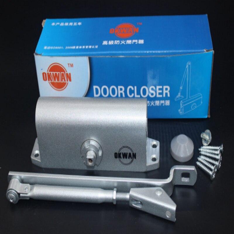 Вес 1,2 кг Поддержка 50 кг Дверной доводчик Гидравлический Автоматический Дверной доводчик закрывание двери